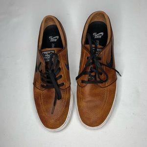 Nike Zoom Stefan Janoski Elite Ale Brown Shoes
